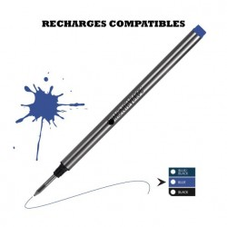 Monteverde - recharge compatible Montblanc - stylo roller