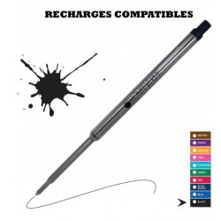 Monteverde - recharge compatible Waterman - stylo bille