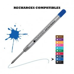 Monteverde - recharge compatible Parker - stylo bille