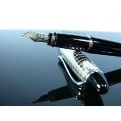 Aurora - stylo plume - Ipsilon argent