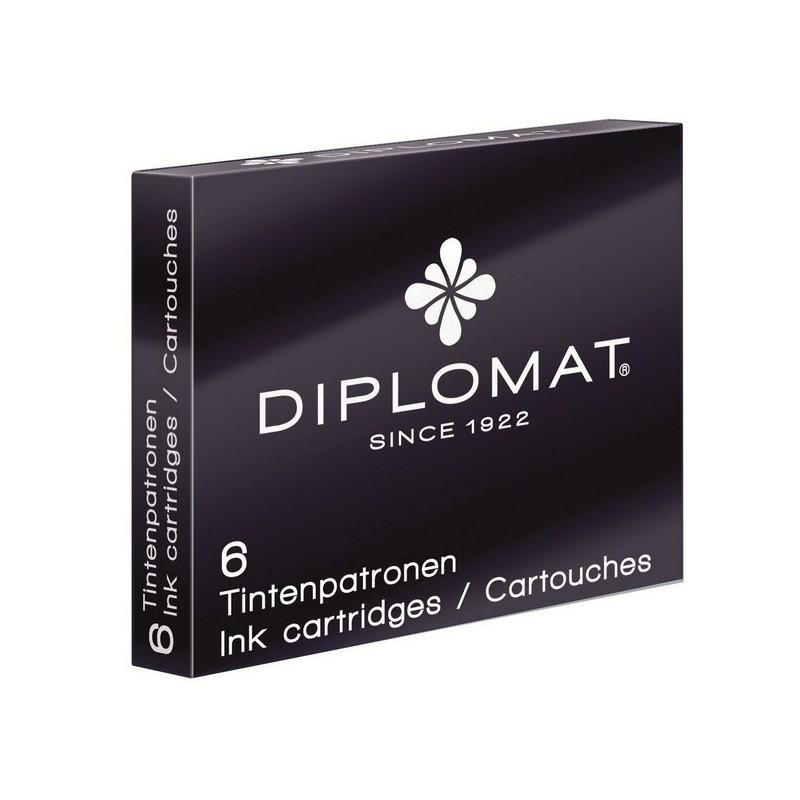 Diplomat - Boite de 6 cartouches d encre