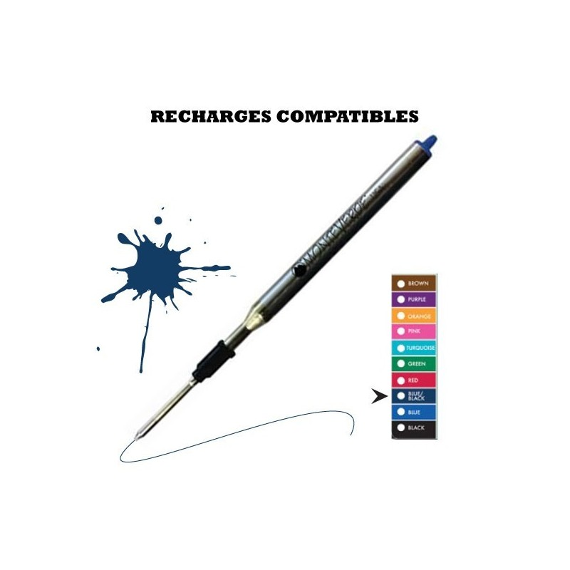Monteverde - recharge compatible Lamy - stylo bille