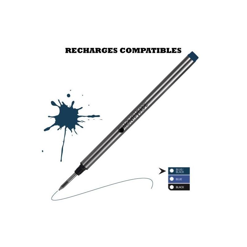 Monteverde - recharge compatible Montblanc - stylo roller
