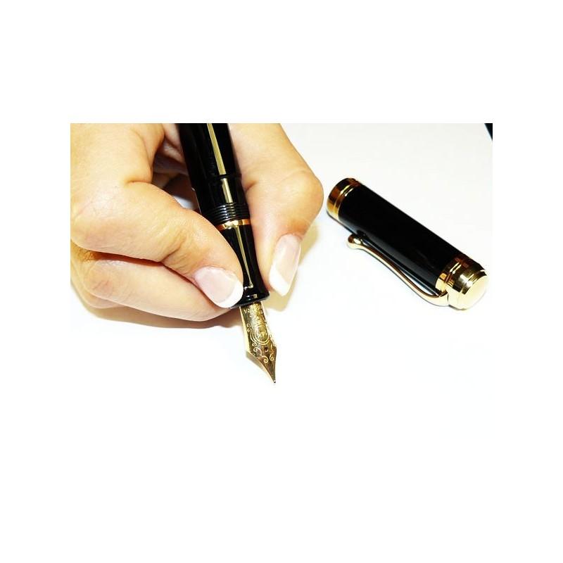 Aurora - stylo plume - Talentum - resine