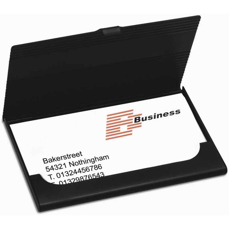 Porte cartes de visite en metal