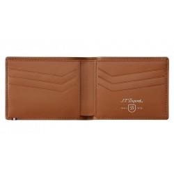 Porte-cartes et billets - Cuir perforé - Dupont