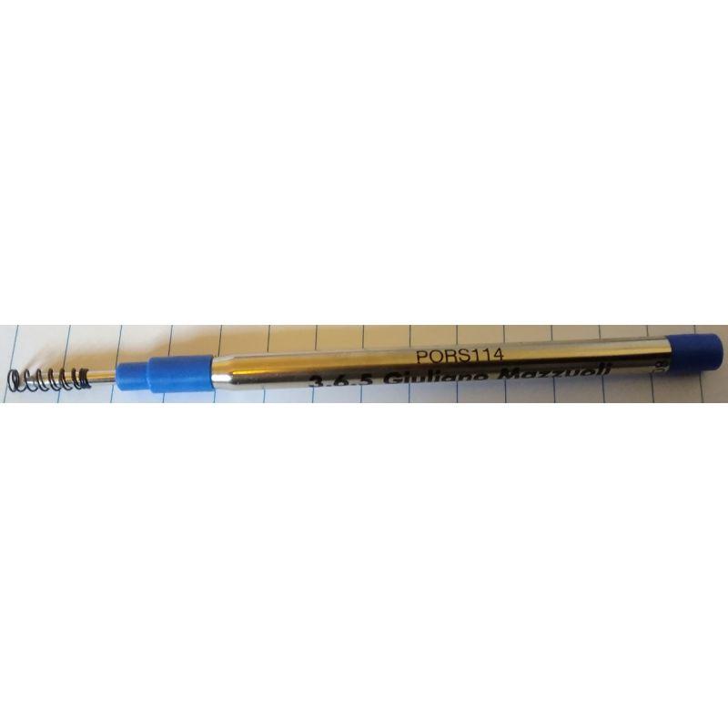 Recharge roller Bleu Mazzuoli Officina 4 tempi