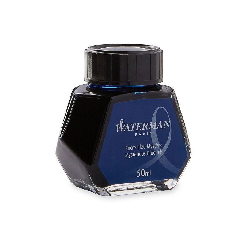 Flacon d'encre bleu nuit Waterman 50ml